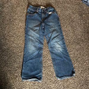 Boys jeans size 7 slim